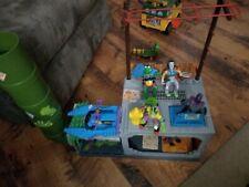 Near Complete TMNT Sewer Playset 1989 Playmates teenage mutant ninja turtles