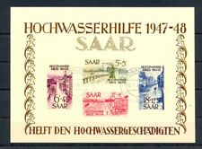 GERMANY SAARLAND 1948-- MI# BL.1 -CV € 3400 -FAKE !!-FOR REFERENCE