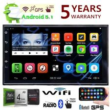 NEW 7inch 2DIN Quad Core Android 5.1 MP5 Player 3G WIFI Bluetooth Car Stereo GPS