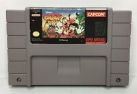 SNES Disney's Goof Troop Video Game Cartridge *Authentic/Cleaned/Tested*