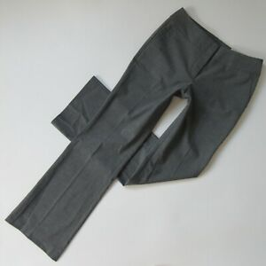 NWT Ann Taylor Curvy Fit in Heather Gray Stretch Suiting Trouser Pants 2 x 32