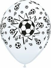 Soccer Party Supplies - Soccer Balls Printed Balloons 2 for $1.50 (Qualatex)