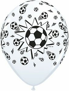 World Cup Soccer Party Supplies - Soccer Balls Printed Balloons 2 for $1.50