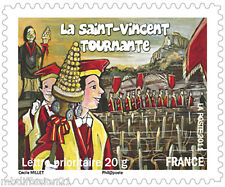 2011 - ADHESIF - TIMBRE FRANCE NEUF**- SAINT.VINCENT TOURNANTE - STAMP - Yt.583a