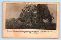 Goshen, NY - PRE 1908 VIEW OF BENJAMIN COLEMAN COLONIAL HOUSE - POSTCARD