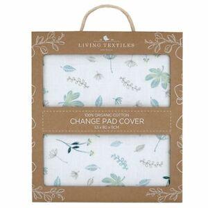 Living Textiles Organic Changepad Cover Banana Leaf
