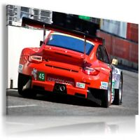 PORSCHE 911 RED Sports Cars Wall Art Canvas Picture  AU866  MATAGA