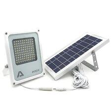 ALPHA 600X Solar Powered LED Flood Light 3-Level Brightness Lithium Battery D...