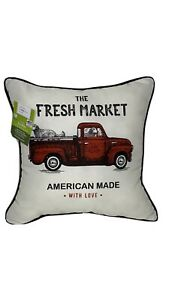 Set Of 2 Outdoor Throw Pillows - New With Tags