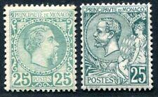 MONACO 1885 8,16 ungebraucht gute WERTE mit NEUGUMMI (S3669