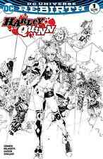 HARLEY QUINN 1 VOL 3 PHILIP TAN B&W SKETCH VARIANT NM