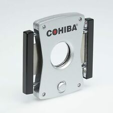 Xikar EPZ Side/Side Double Guillotine Cigar Cutter COHIBA SILVER 405BKC SAVE 69%