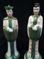 I LOVE LUCY ASIAN STATUES - ULTRA RARE STEWART B. MCCULLOCH ORIENTAL FIGURINES -