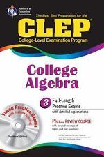 CLEP Test Preparation Ser.: Clep College Algebra : The Best Test Preparation for