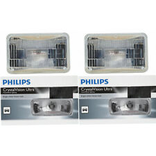 Two Philips CrystalVision Sealed Beam Light Bulb H4656CVC1 for H4656 REC-58 gi