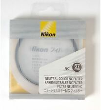 Nikon NC Neutral Color filter protection UV 67mm *NEW *