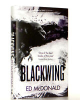 Ed McDonald SIGNED LINED DATED Blackwing UK Hardcover TRUE 1st Edition 1st Print