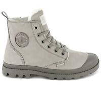 Palladium Pampa Hi Zip WL W Damen Winter Boots 95982-071 Leder Stiefel gefüttert