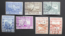 Yemen 1951 Air Stamps Set SG 81-87 Fine Used