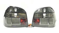 VW Golf MK3 GTI TDI VR6 Smoked LED Rear Tail Lights Brake Stop Lights New