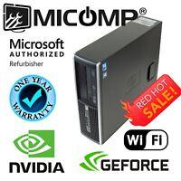 HP Core i5 Gaming Computer PC 16GB 500GB HDD Nvidia GTx 1050 Ti HDMI WiFi Win 10