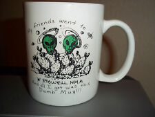 Roswell New Mexico Coffee Cup Mug Aliens