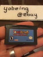 Yoshi's Island Nintendo Game Boy Advance Authentic TESTED Yoshis GBA GAMEBOY