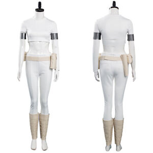 Star Wars Padme Amidala Cosplay Costume Outfits Halloween Carnival Suit