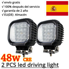 2X 48W CREE LED Work Light Lámpara Trabajo Led inundación Truck Jeep ATV SUV 4WD