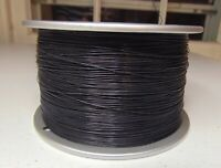 20 feet 32 AWG stranded Silver Plated Copper PTFE Wire Black SPC 19 STRAND