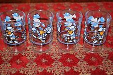 1984 New Orleans Worlds Fair Pelican Seymore de Faire Barware 4 Juice Glasses