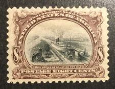 TDStamps: US Stamps Scott#298 Mint H OG Tiny Thin