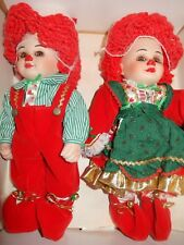 "Marie Osmond Porcelain ""Twins"" Collector Dolls"