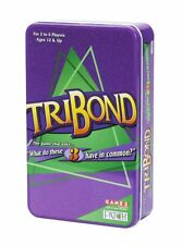 TriBond - Travel Version - What Do These 3 Have In Common - New Sealed Tin Box