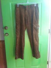 Mens Brown Cordaroy Pants 32 Bad boys
