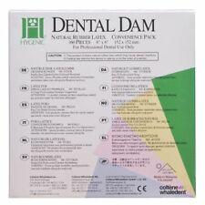 Coltene H04246 Hygenic 6 X 6 Thin Green Rubber Dental Dam 360bx Exp 423