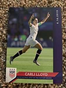 2019 Panini Instant USWNT World Cup Champs Carli Lloyd Only 67 Made