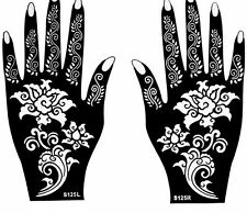 picture about Henna Templates Printable identify Henna Stencils for sale eBay