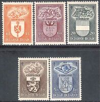 Belgium 1947 Anti-TB set of 5 mint SG1212/1213/1214/1215/1216 (5)