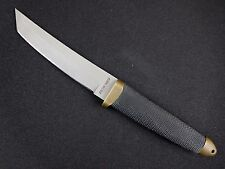 Vintage COLD STEEL RECON TANTO Knife NON REFLECTIVE FINISH  MINT! w/Orig Sheath
