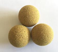 3 balles de baby foot en liege 14g - Qualité Bonzini