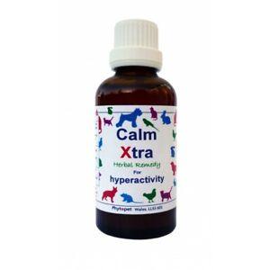 Phytopet Herbal Remedies Calm Xtra 100ml Dog Cat hyperactiviy