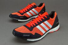 Men's Adidas Adizero Adios 3 M Running Shoes Solar Red/Black-White Sz 11 AF6554