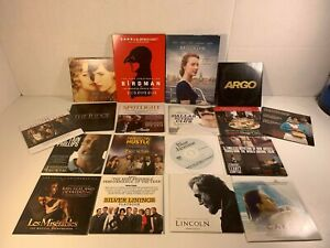 "Lot of ""For your consideration"" award dvds -several years 2012 2013 2015"