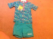 baby girls UPF 40 sunsuit shorts set 18-24 months by Regatta