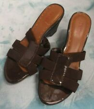 Dexter Comfort Women's Strappy Open Toe Wedges Size 6
