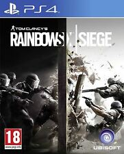 TOM CLANCY'S RAINBOW SIX D'ASSEDIO PS4 NUOVO e SIGILLATO