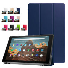 For Amazon Kindle Fire HD 10 2019 9th Gen Magnetic Smart Leather Flip Stand Case
