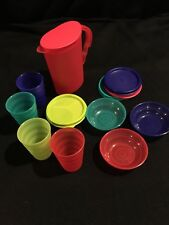 Tupperware Impressions 9 Pc Mini Play Set Toy