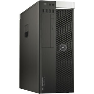 Dell Precision T5810 Intel Xeon E5-1650 v3 12x 3,5 GHz 32 GB RAM 2 TB HDD